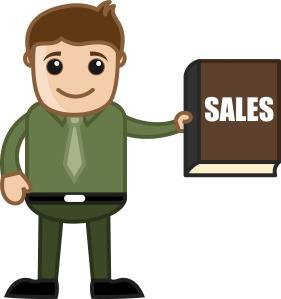 vendedor de sucesso
