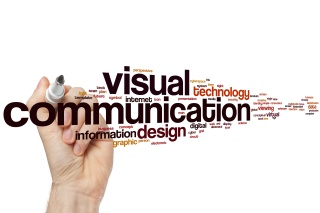 Visual communication word cloud